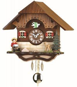 Miniatura de Relógio Cuco chale eletrônico alemão