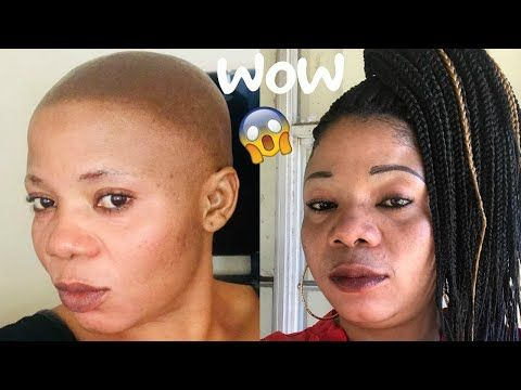 How To Grip And Braid Very Short Hair Senegalese Twists Senegalese Twist Hairstyles Very Short Hair Senegalese Twist Braids
