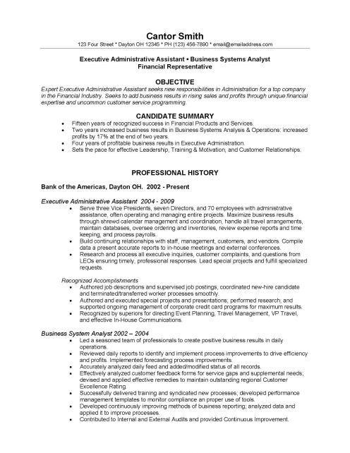 resume for bank teller job