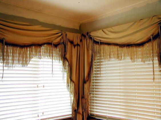 Swag Curtains Swag And Decorating Ideas On Pinterest