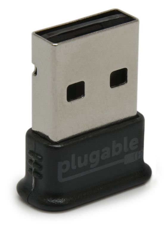 Amazon.com: Plugable USB Bluetooth 4.0 Low Energy Micro Adapter (Windows 10, 8.1, 8, 7, Raspberry Pi, Linux Compatible; Classic Bluetooth, and Stereo Headset Compatible): Electronics