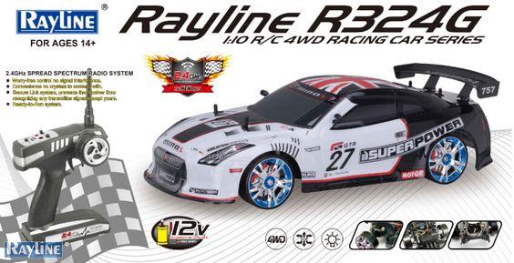 RC Auto Rayline R324 2.4GHz Drift Car