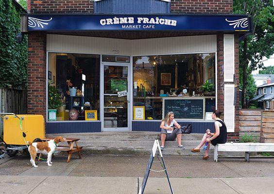 creme fraiche market cafe - a year round indoor market in the Junction, Toronto
