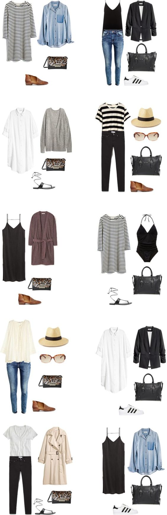 What to Wear in Italy and on a Mediterranean Cruise Outfit Options 11-20…