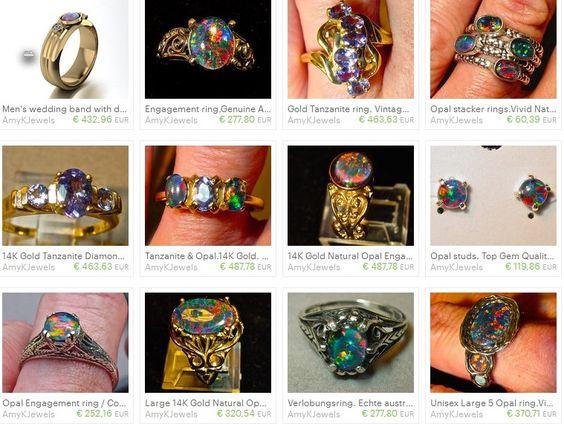 Webpromotion für Ihren Shop: OPAL und Diamanten  - was will Frau mehr?
