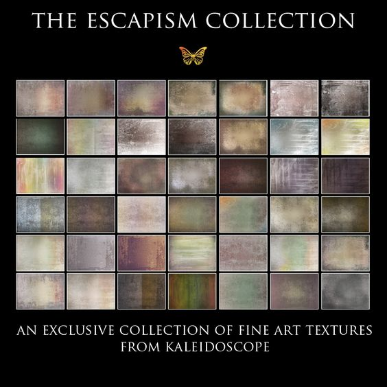 The Escapism Collection CM Exclusive Texture Set by Kaleidoscope | Clickin Moms Store