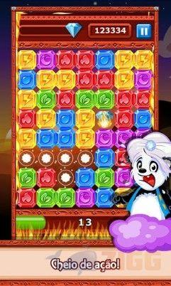 Diamond Dash para Android - Jogo de combinar 3 cores
