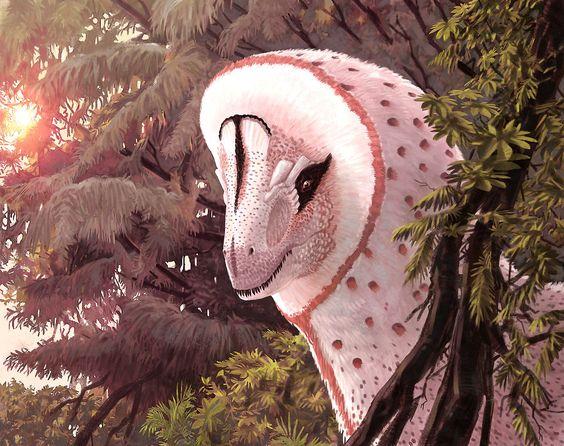 A very feathery Cryolophosaurus. It's so fluffy!