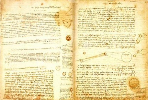 Codex Leicester by Leonardo da Vinci, 1510