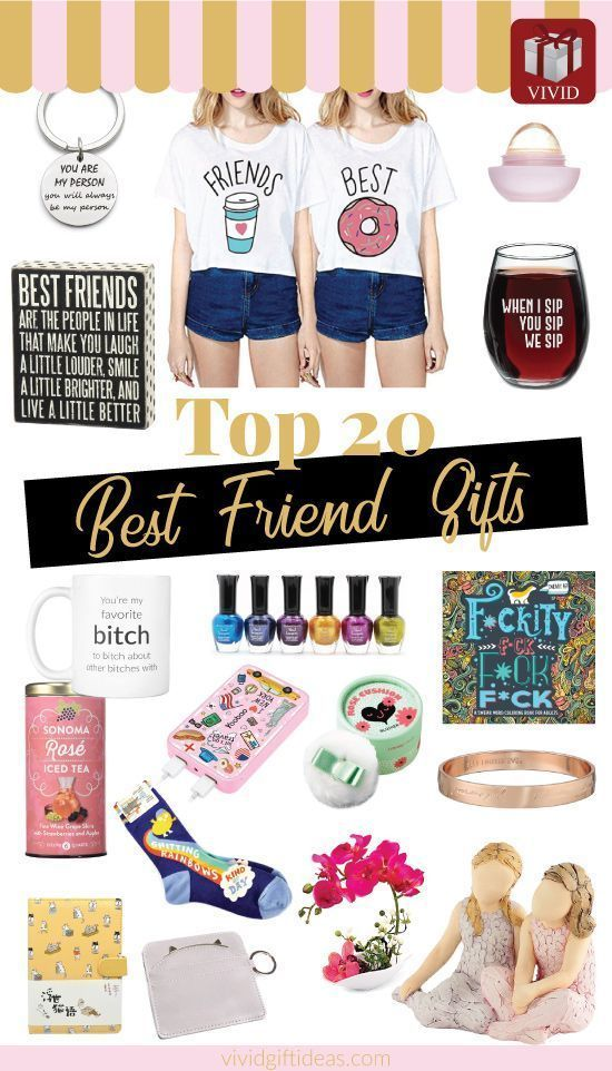 20 Thoughtful Good Gifts For Female Best Friends Regalos De