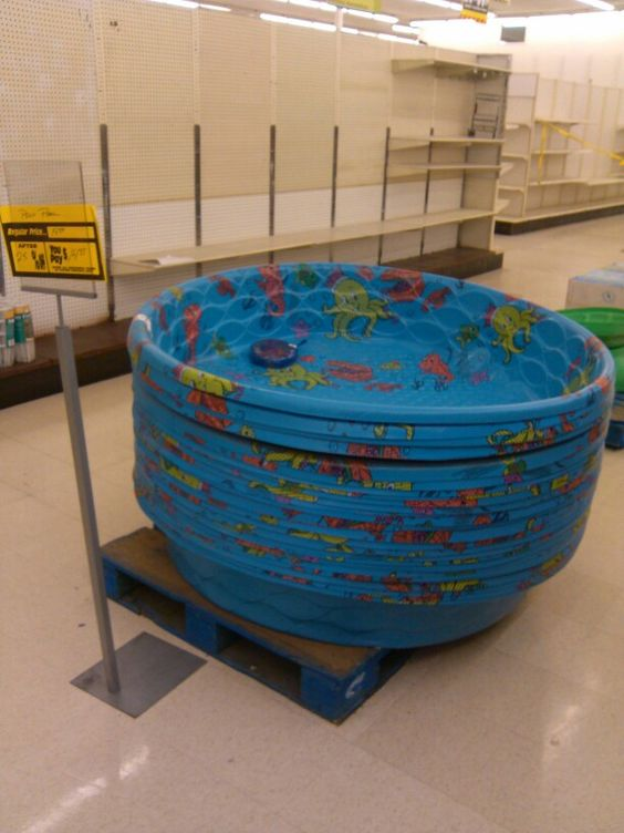 Swimming pools for sale @ Kmart.