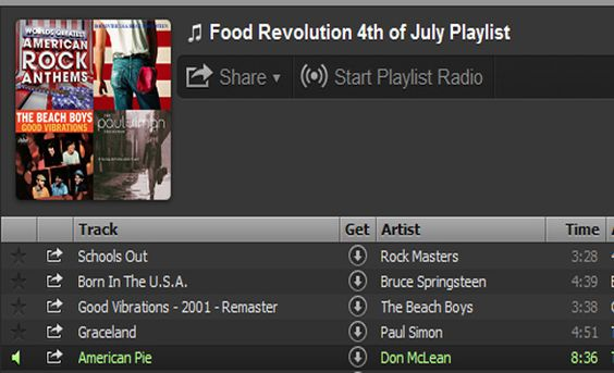 Turn the music on loud, fire up the grill, marinate your Barbecue Chicken, and celebrate July Fourth, Food Revolution style!