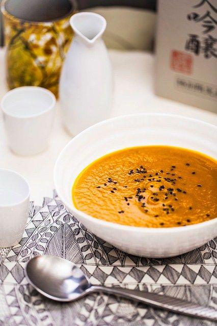 Hemsley & Hemsley: Miso Carrot Soup | Fresh coriander ...