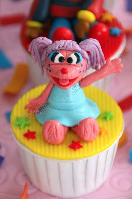 Celebrate with Cake!: Sesame Street Cupcakes