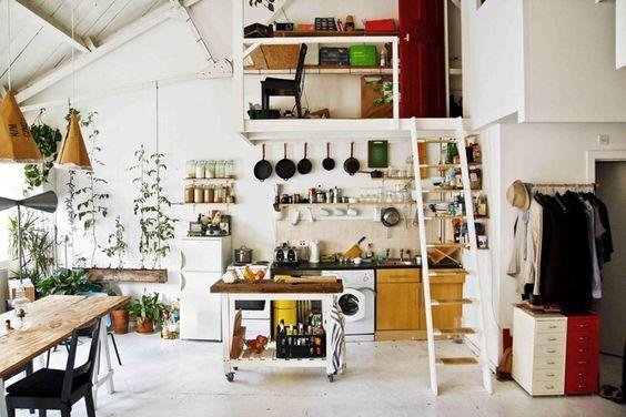 Tottenham loft, une rehabilitation economique | Planete Decor