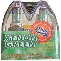 Cheap Max 9004 High Intensity Xenon Green Headlight Bulbs (1 pair) sale