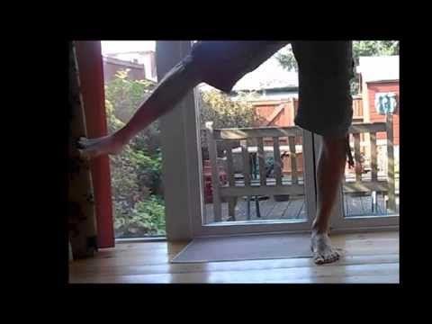 Abducción y aducción de cadera - YouTube