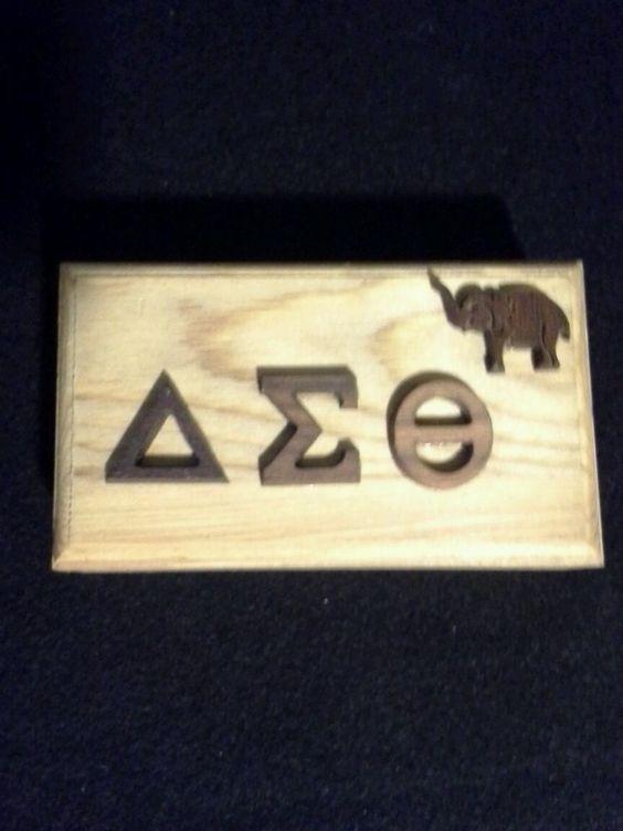 Delta Sigma Theta Wooden box
