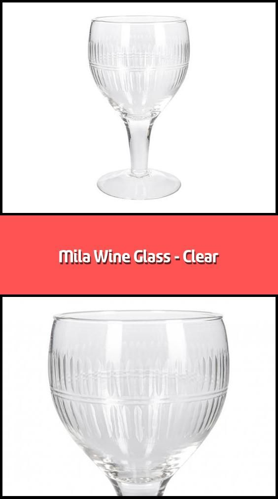 Mila Wine Glass Clear Wine Glass Material Recycled Glass