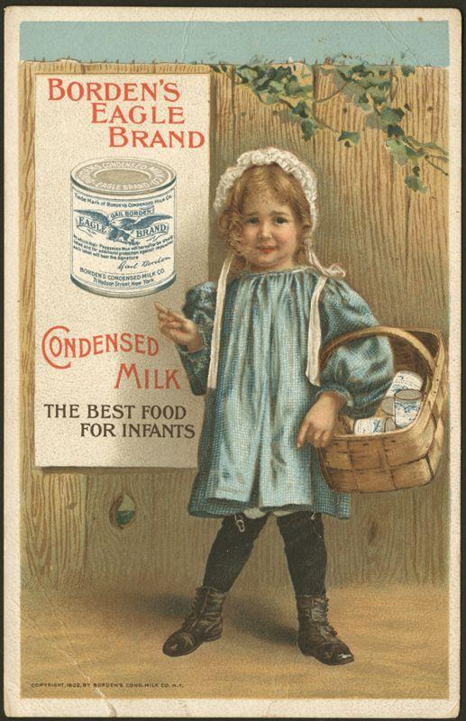 Borden's Eagle Brand ad