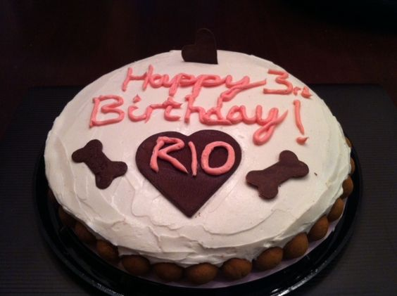 Birthday cake for Rio