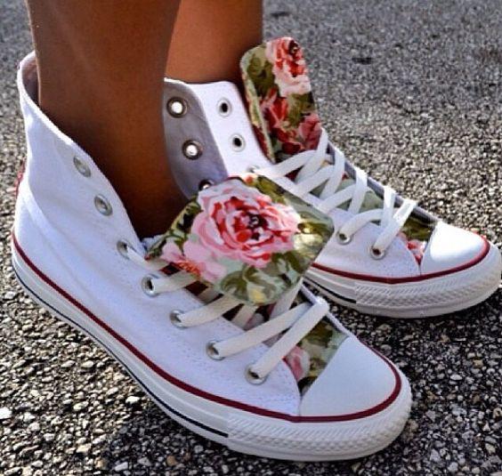 All star converse floral interior <<<33