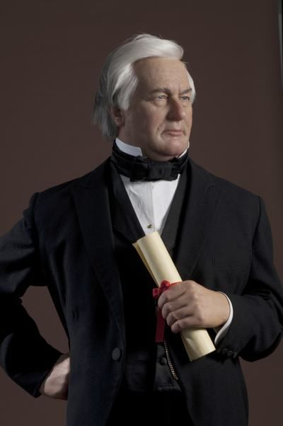 Millard Fillmore's likeness displayed at Madame Tussaud's Wax Museum in Washington, D.C.