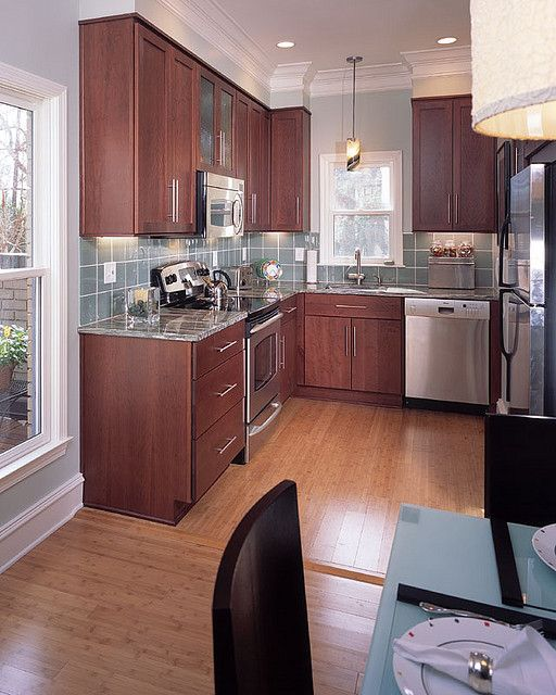Small Kitchen Woodwork: Kitchen Idea For Small Kitchen