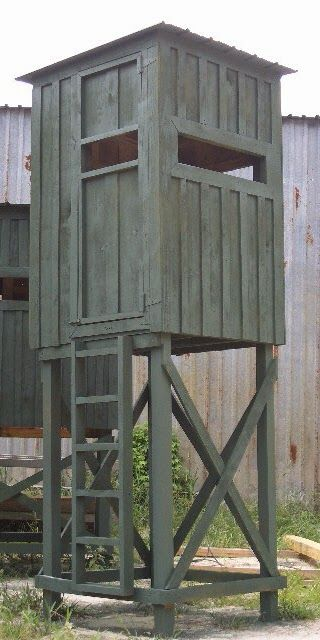 Amish Built Deer Stands : Pallet projects deer stand hunting