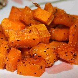 Simple Roasted Butternut Squash - so easy and tastes yummy!