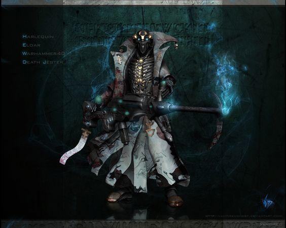 Death-Jester Redesign by ~VampireDGhost on deviantART