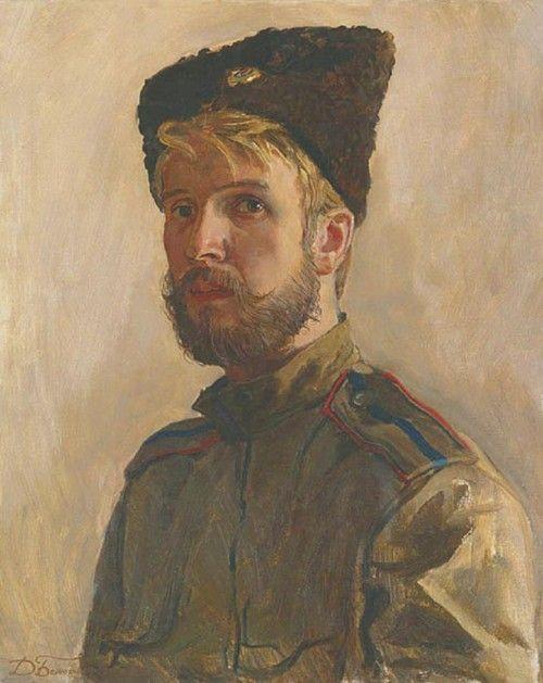 Dmitri Belyukin Kozachok: Self Portrait Wearing The Uniform Of The Don Cossack