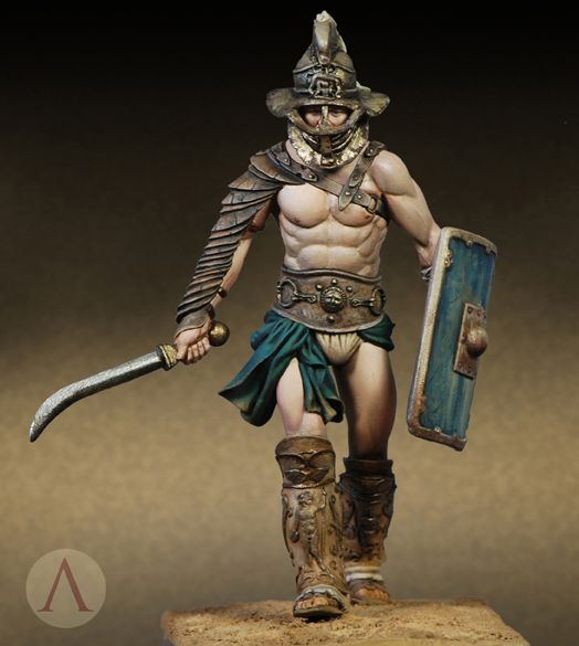 Historicus Forma :: Thracian Gladiator from Scale75