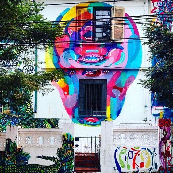 Vila Mariana São Paulo. Foto por @thaisfreitas. #followthecolours #cores #colours #grafite #streetart #streetartsp #graffiti #arte #arte by ftc_insta