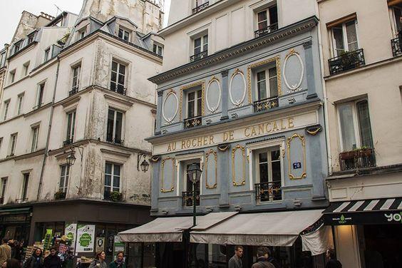 Le fameux Rocher de Cancale, Rue Montorgueil, 1e.