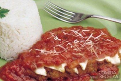 Receita de Bife à parmegiana em receitas de carnes, veja essa e outras receitas aqui!