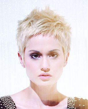 Groovy Blonde Hair Pixie Hairstyles And Hairstyles On Pinterest Short Hairstyles Gunalazisus