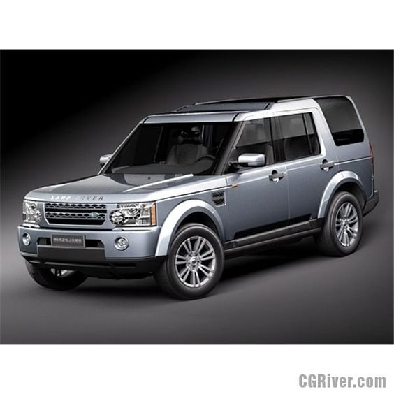 Used Land Rover Discovery 4 Suv For Sale: Land Rover Discovery LR 4 - 3D Model