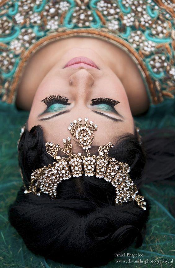 www.devanshi-photography.nl  fashion, glamour, studio-shoot, beauty,women, models, sexy, make-up,, saree, sari, lehenga, snakes, wedding, eyes,