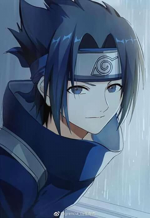 Sasuke Uchiha Coloriage Naruto Sasuke