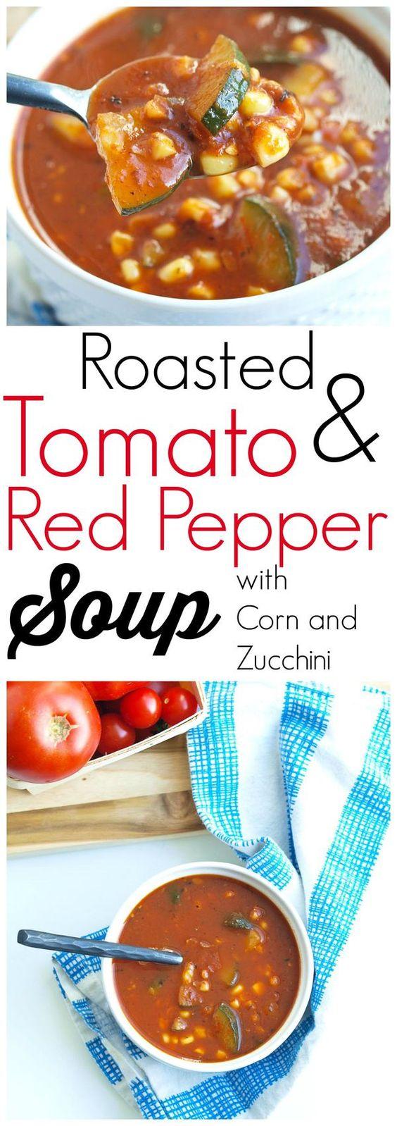 Explore Tomato Corn Soup, Zucchini Tomato Soup, and more!