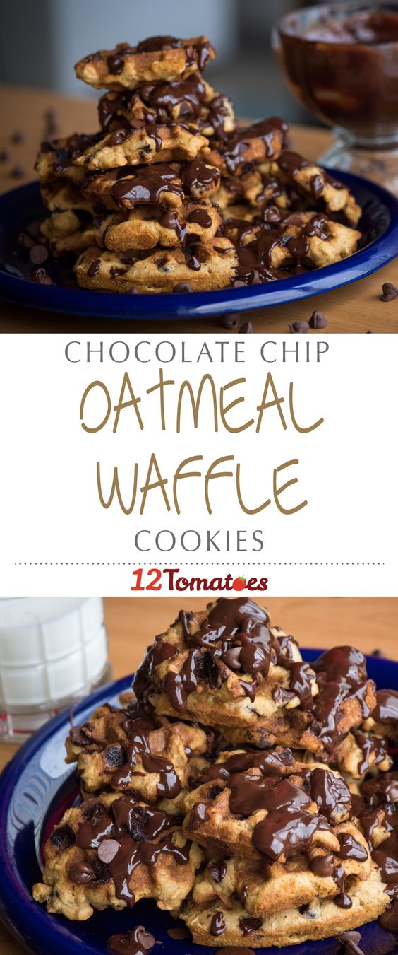 waffles chocolate chip oatmeal waffles oatmeal cookies chocolate chips ...