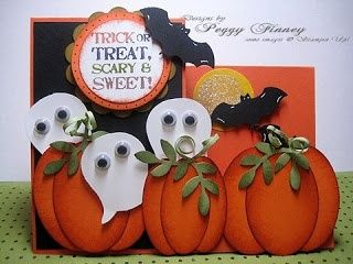 """Stampin' Up! """"Build A Owl"""" Punch: Halloween Punch Art ... 