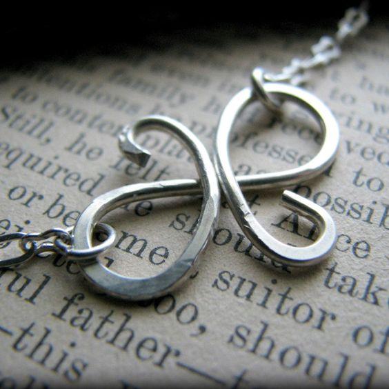 Friendship Bracelet Infinity Best Friend Symbol Sterling Silver