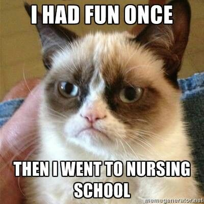 Nursing school problems: