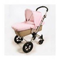 Vestidura capazo más capota Topito Pasito a Pasito #bebé #pink #rosa