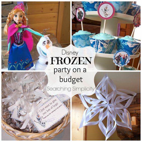 FROZEN Birthday Party Ideas From Searching Simplicity