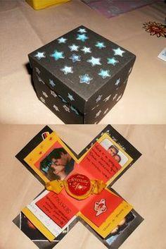 ♥ Presentes de Amor ♥: >> Caixa Explosão