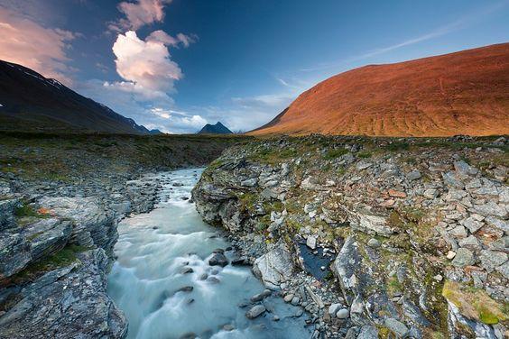 Lapplandabendstille  www.tapeterie.de