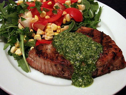 : tuna steaks with lemon pesto | Seafood Recipes | Pinterest | Tuna ...